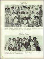 1975 Dunbar High School Yearbook Page 112 & 113
