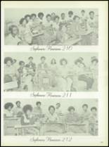 1975 Dunbar High School Yearbook Page 142 & 143