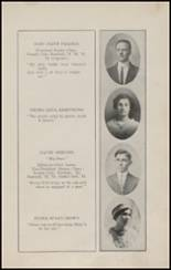 1913 North Side High School Yearbook Page 20 & 21