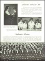 1965 Academy of Our Lady Yearbook Page 28 & 29