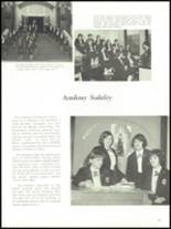1965 Academy of Our Lady Yearbook Page 44 & 45