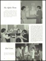 1965 Academy of Our Lady Yearbook Page 50 & 51