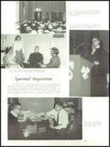 1965 Academy of Our Lady Yearbook Page 72 & 73
