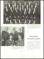 1965 Academy of Our Lady Yearbook Page 74 & 75