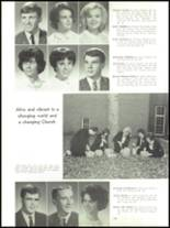 1965 Academy of Our Lady Yearbook Page 134 & 135