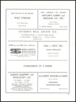 1965 Academy of Our Lady Yearbook Page 208 & 209