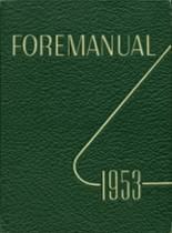 1953 Yearbook Foreman High School