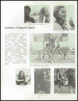 1973 Los Angeles Baptist High School Yearbook Page 92 & 93