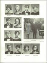 1968 East Bay High School Yearbook Page 66 & 67