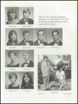 1968 East Bay High School Yearbook Page 72 & 73