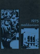 1975 Yearbook Malden High School