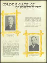 1949 William Penn High School Yearbook Page 16 & 17