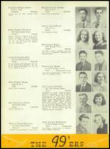 1949 William Penn High School Yearbook Page 54 & 55