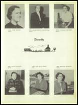 1957 Troup High School Yearbook Page 14 & 15