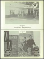 1957 Troup High School Yearbook Page 100 & 101