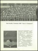 1968 Field Kindley Memorial High School Yearbook Page 36 & 37