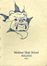 1947 Yearbook Madison Area Memorial High School