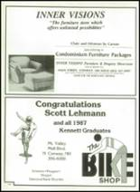 1987 Kennett High School Yearbook Page 164 & 165