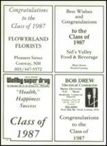 1987 Kennett High School Yearbook Page 180 & 181