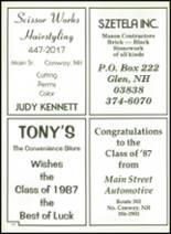 1987 Kennett High School Yearbook Page 184 & 185
