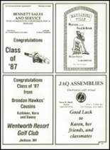 1987 Kennett High School Yearbook Page 190 & 191