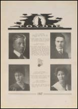 1917 Pryor High School Yearbook Page 22 & 23