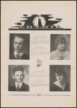 1917 Pryor High School Yearbook Page 24 & 25
