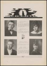 1917 Pryor High School Yearbook Page 26 & 27
