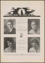 1917 Pryor High School Yearbook Page 28 & 29