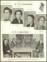 1957 Boling High School Yearbook Page 12 & 13