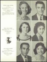 1957 Boling High School Yearbook Page 20 & 21