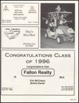 1996 Churchill County High School Yearbook Page 216 & 217