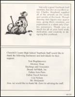 1996 Churchill County High School Yearbook Page 224 & 225
