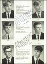 1968 Dows High School Yearbook Page 12 & 13