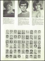1968 Dows High School Yearbook Page 14 & 15