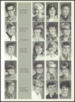 1968 Dows High School Yearbook Page 22 & 23