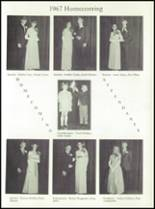 1968 Dows High School Yearbook Page 52 & 53