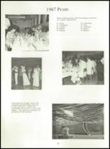 1968 Dows High School Yearbook Page 58 & 59
