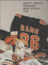 1986 Yearbook Mt. Vernon Township High School