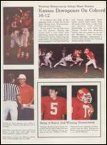 1989 Kansas High School Yearbook Page 22 & 23