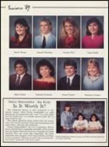 1989 Kansas High School Yearbook Page 28 & 29