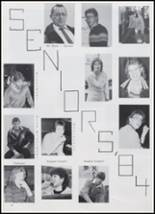1984 Beemer High School Yearbook Page 14 & 15