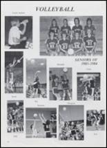 1984 Beemer High School Yearbook Page 32 & 33