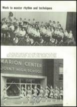 1958 Marion Center Area High School Yearbook Page 64 & 65