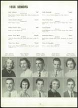 1958 Marion Center Area High School Yearbook Page 80 & 81