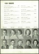 1958 Marion Center Area High School Yearbook Page 84 & 85