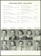 1958 Marion Center Area High School Yearbook Page 88 & 89