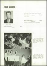 1958 Marion Center Area High School Yearbook Page 90 & 91