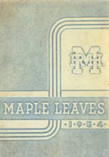 1954 Yearbook Maplewood-Richmond Heights High School