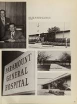 1972 Paramount High School Yearbook Page 244 & 245